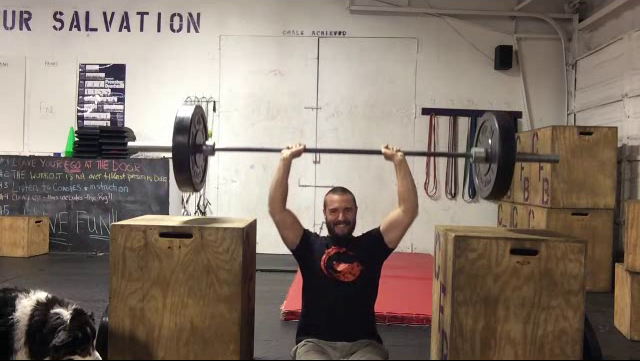 Nick Horowski Strongman Training 36
