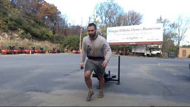 Nick Horowski Strongman Training 37