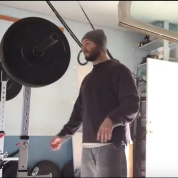Nick Horowski Strongman Training 38