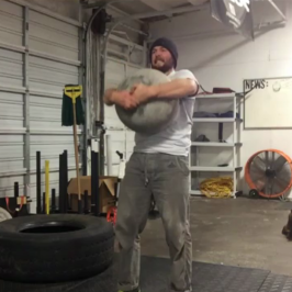 Nick Horowski Strongman Training 71 Max Effort Lower Body