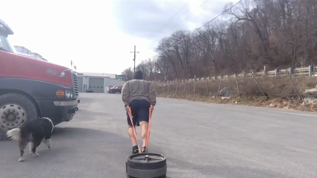 Nick Horowski Strongman Training 82 Max Effort Lower Body