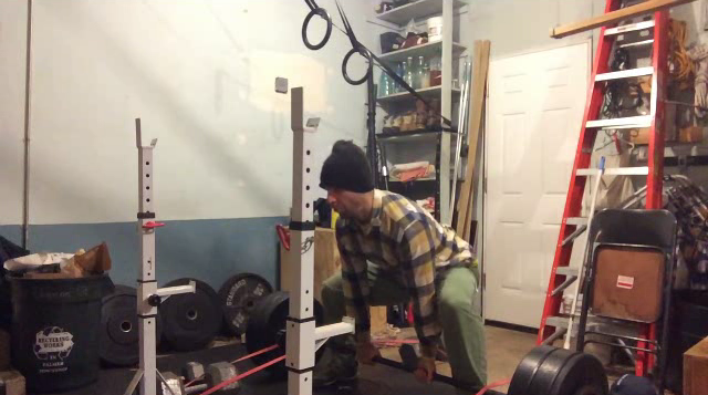 Nick Horowski Strongman Training 84 Dynamic Effort Lower Body