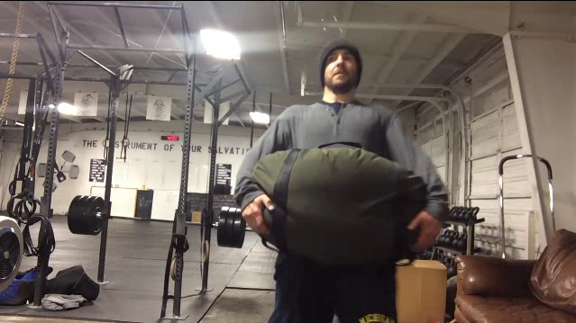 Nick Horowski Strongman Training 90 Max Effort Lower Body