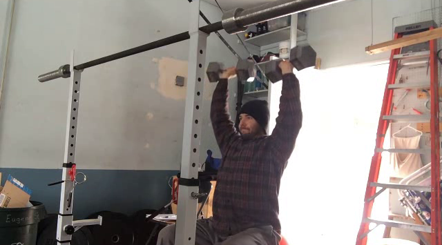 Nick Horowski Strongman Training 91 Max Effort Upper Body