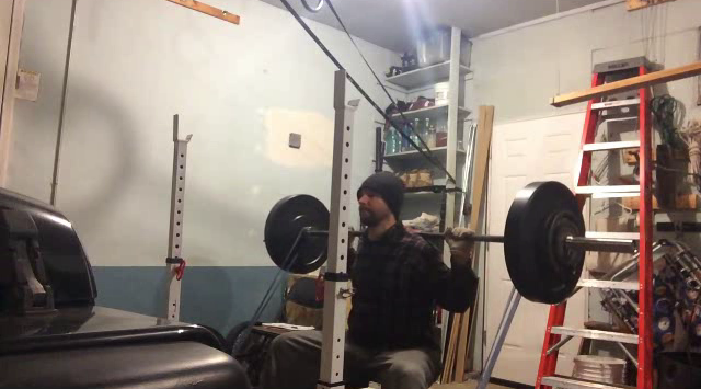Nick Horowski Strongman Training 92 Dynamic Effort Lower Body