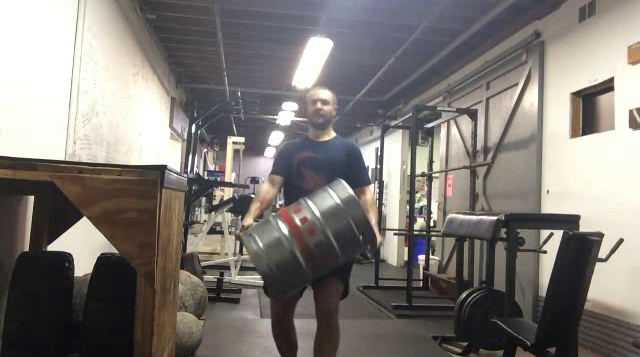 Nick Horowski Strongman Training 98 Max Effort Lower Body