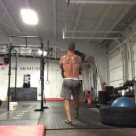 Nick Horowski – Strongman Training 4