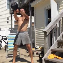 Nick Horowski Strongman Training 6