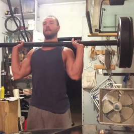 Nick Horowski – Strongman Training 7