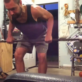 Nick Horowski – Strongman Training 10