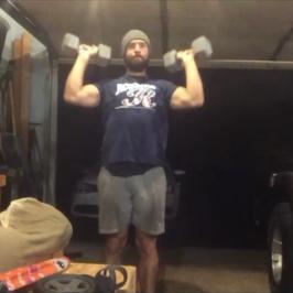 Nick Horowski Strongman Training 16