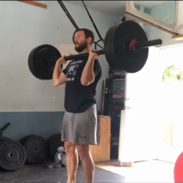Nick Horowski Strongman Training 17
