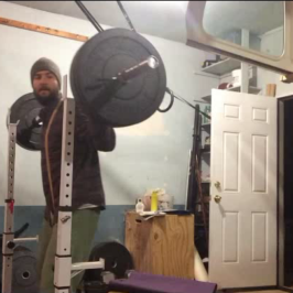 Nick Horowski Strongman Training 22