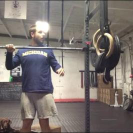 Nick Horowski Strongman Training 20