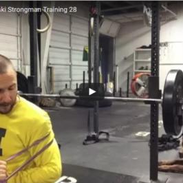 Nick Horowski Strongman Training 28