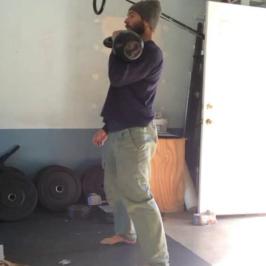 Nick Horowski Strongman Training 23