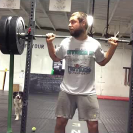 Nick Horowski Strongman Training 25