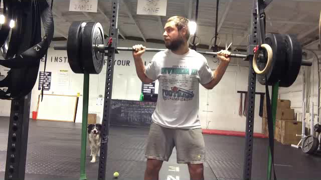 Nick Horowski Strongman Training 25