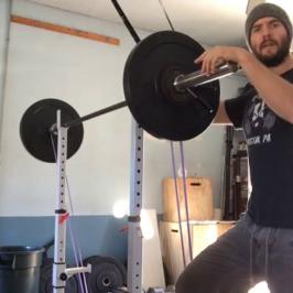 Nick Horowski Strongman Training 41 – Dynamic Effort Upper Body