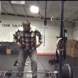 Nick Horowski Strongman Training 42 – Max Effort Lower Body