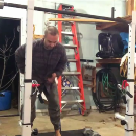 Nick Horowski Strongman Training 44 – Dynamic Effort Lower Body