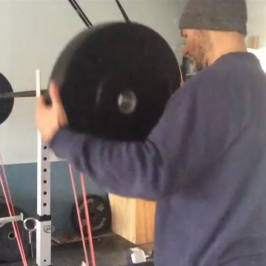 Nick Horowski Strongman Training 46 – Dynamic Effort Lower Body