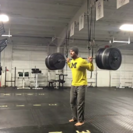 Nick Horowski Strongman Training 47 – Dynamic Effort Upper Body