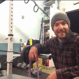 Nick Horowski Strongman Training 49 – Max Effort Upper Body