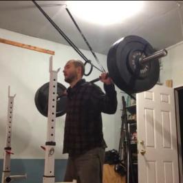 Nick Horowski Strongman Training 50 – Dynamic Effort Lower Body