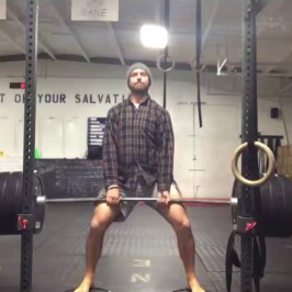 Nick Horowski Strongman Training 52 – Max Effort Lower Body