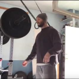 Nick Horowski Strongman Training 38