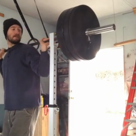 Nick Horowski Strongman Training 57 Max Effort Upper Body