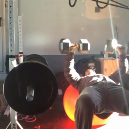 Nick Horowski Strongman Training 61 Max Effort Upper Body
