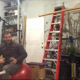 Nick Horowski Strongman Training 62 Dynamic Effort Lower Body