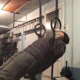 Nick Horowski Strongman Training 63 Repetition Effort Upper Body