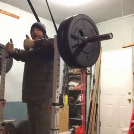 Nick Horowski Strongman Training 65 Max Effort Upper Body
