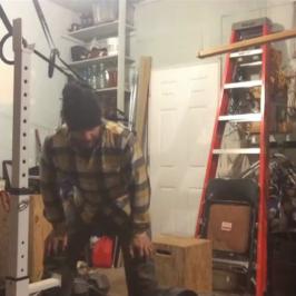 Nick Horowski Strongman Training 69 Dynamic Effort Lower Body