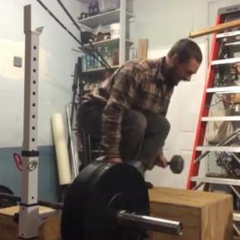 Nick Horowski Strongman Training 73 Dynamic Effort Lower Body