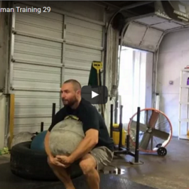 Nick Horowski Strongman Training 29