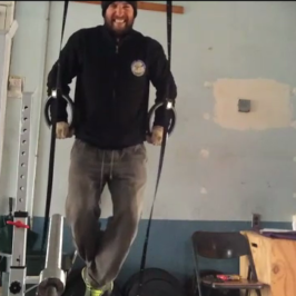 Nick Horowski Strongman Training 74 Repetition Effort Upper Body
