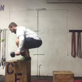 Nick Horowski Strongman Training 78 Max Effort Lower Body