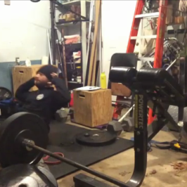 Nick Horowski Strongman Training 80 Dynamic Effort Lower Body