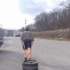 Nick Horowski Strongman Training 82 Max Effort Lower Body