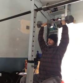 Nick Horowski Strongman Training 91 Max Effort Upper Body