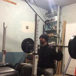 Nick Horowski Strongman Training 92 Dynamic Effort Lower Body