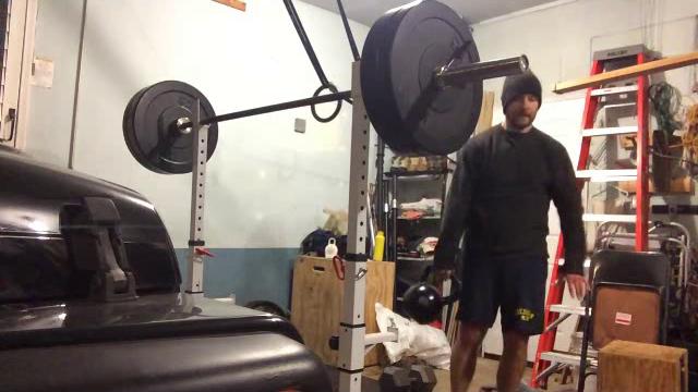 Nick Horowski Strongman Training 96 Dynamic Effort Lower Body