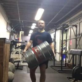 Nick Horowski Strongman Training 98 Max Effort Lower Body