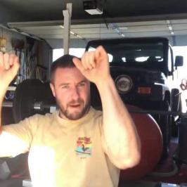 Nick Horowski Strongman Training 99 Max Effort Lower Body