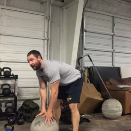 Nick Horowski Strongman 109 Dynamic Effort Lower Body