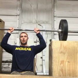 Nick Horowski Strongman 110 Dynamic Effort Upper Body